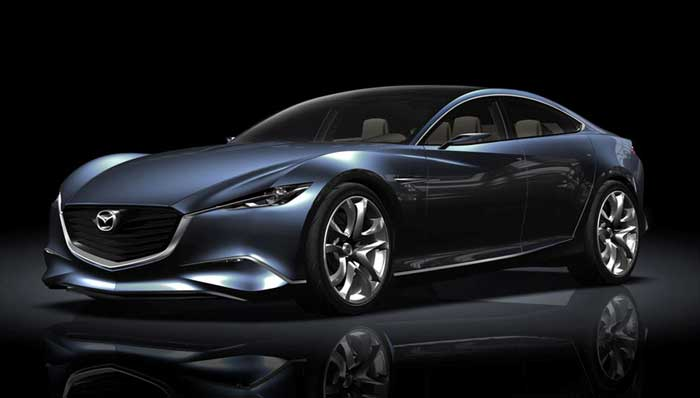 Concept of Mazda Shinari Car