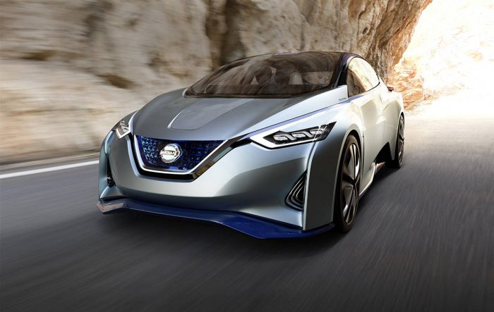 Nissan Intelligent Driving System concept
