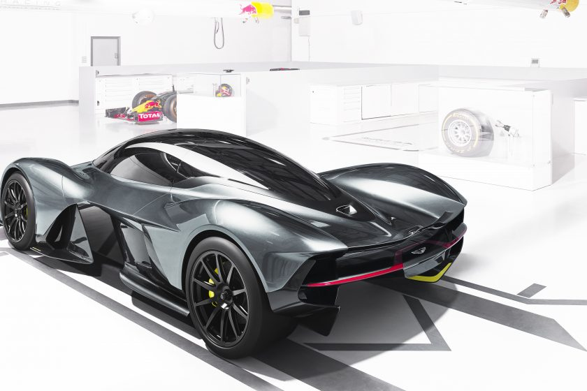 Red Bull Racing And Aston Martin Partner To Nurture A Sport Car - Aston martin concept