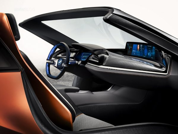 BMW I Central Panorama Display