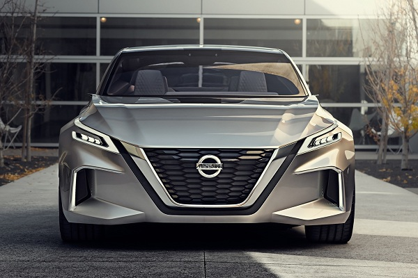 Nissan V-Motion 2.0 – One of the Best Concept Cars at Detroit Motor Show