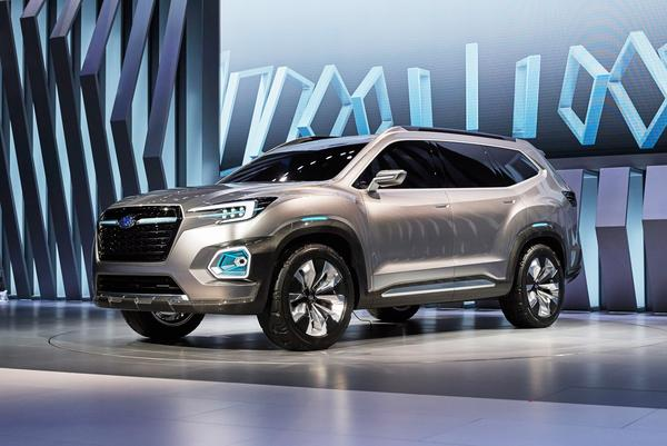 Review of 2016 Concept Cars: Subaru VIZIV-7 Concept