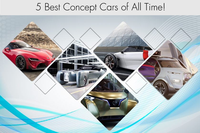 5 Best Concept Cars of All Time!