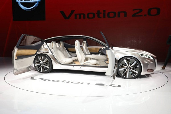Design Strategies for Interior and Exterior of V-Motion 2.0