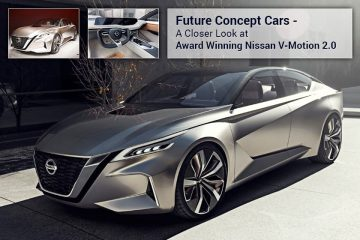 Future Concept Cars – A Closer Look at Award Winning Nissan V-Motion 2.0