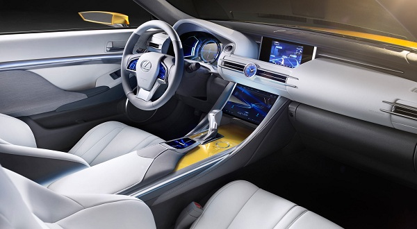 Interior of Lexus LF-C2 Concept