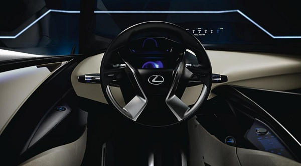 Interior of Lexus LF-SA Concept