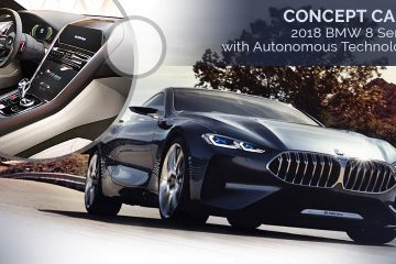Concept Cars - 2018 BMW 8 Series with Autonomous Technology