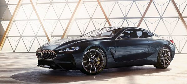 Design of Concept Cars 2018 BMW 8 Series