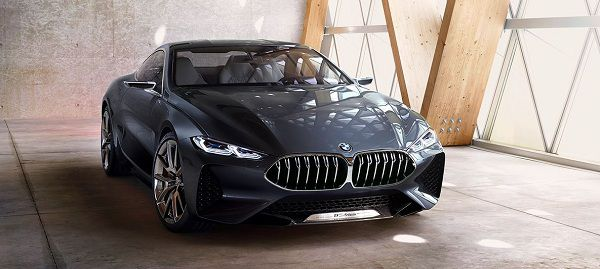 Exterior of Concept Cars 2018 BMW 8 Series