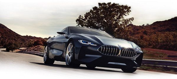 Powertrain of 2018 BMW 8