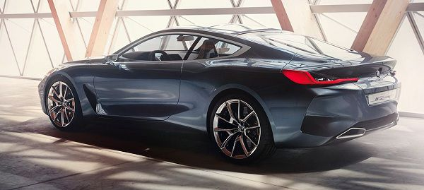 Price of 2018 BMW 8