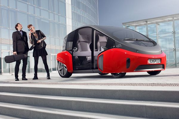 Rinspeed Oasis – One of the Best Concept Cars of Modern Times