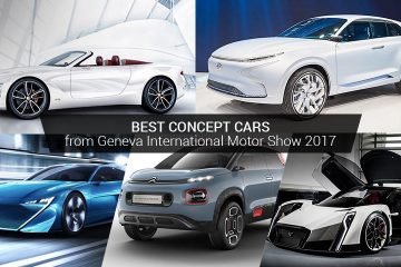 Best Concept Cars from Geneva International Motor Show 2017