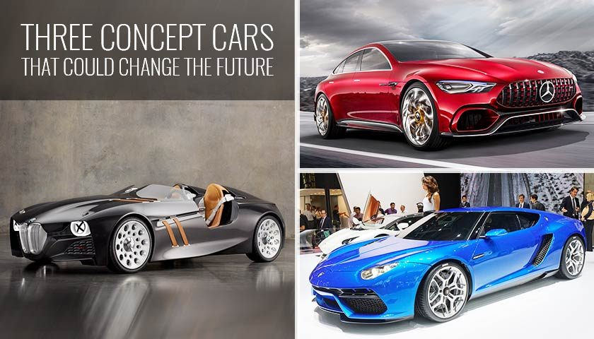 Three Concept Cars That Could Change the Future