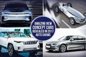 Amazing New Concept Cars Revealed in 2017 Auto Shows