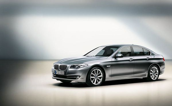BMW Self Driving 5 Series