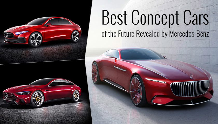 Best Concept Cars of the Future Revealed by Mercedes-Benz