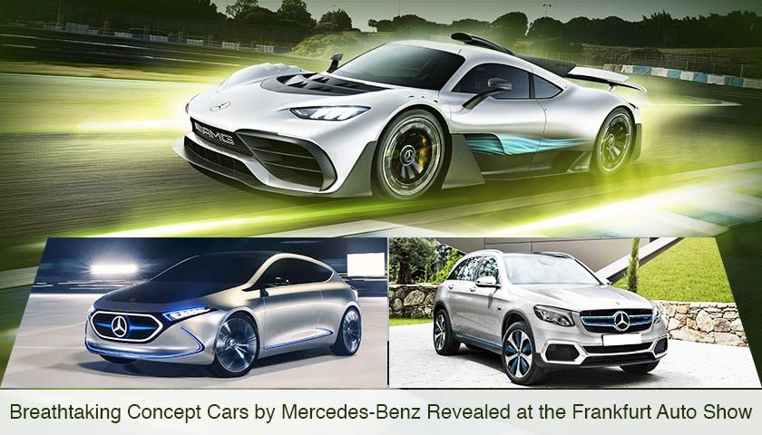 Breathtaking Concept Cars by Mercedes-Benz Revealed at the Frankfurt Auto Show
