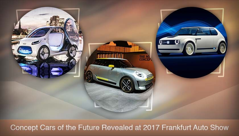 Concept Cars of the Future Revealed at 2017 Frankfurt Auto Show