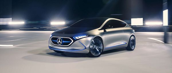 Concept Cars - EQA EV Concept by Mercedes Benz
