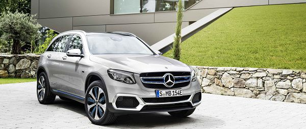 Hydrogen Fuel Plug-In GLC F-Cell Hybrid by Mercedes-Benz