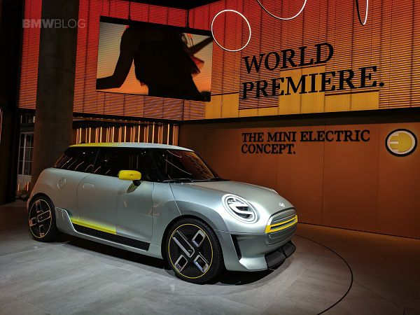 Concept Cars of the Future - Mini EV Concept Car