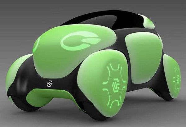 Concept Cars of the Future - Toyoda GOSEI FLESBY II