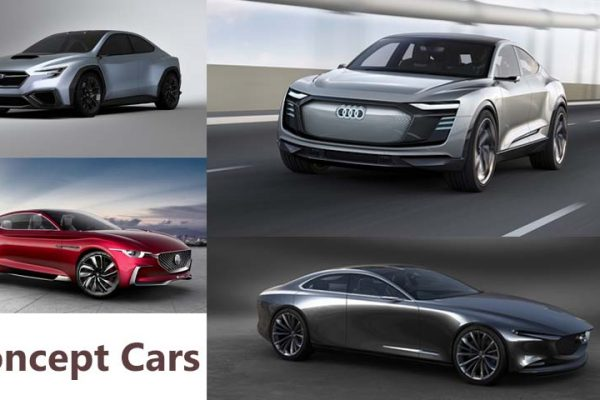 4 Breathtaking Concept Cars from Top Auto Shows around the World