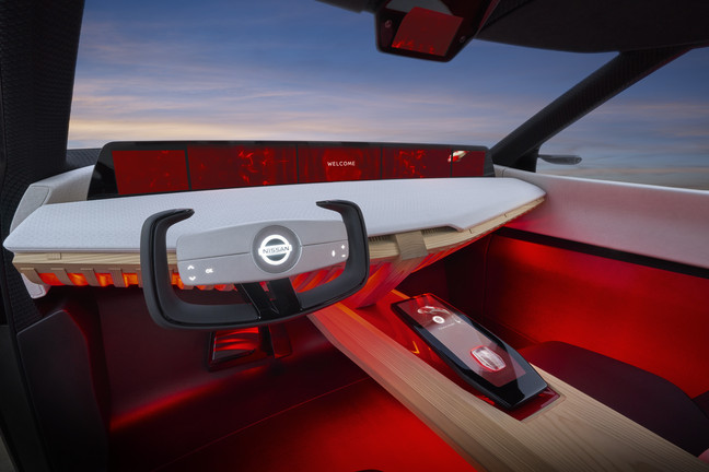 Nissan XMotion Concept Interior