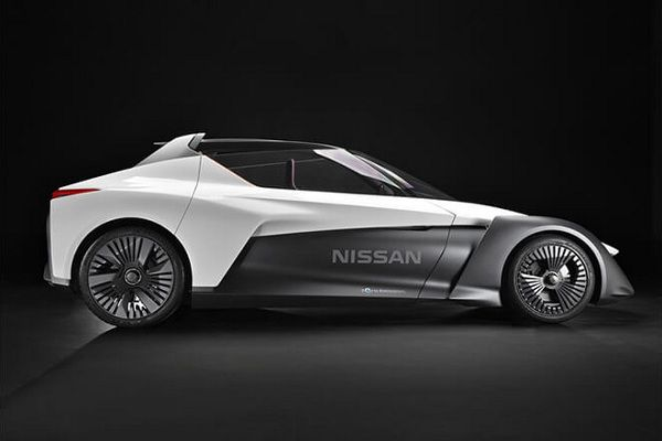 Design of the Nissan BladeGlider Electric Car Concept