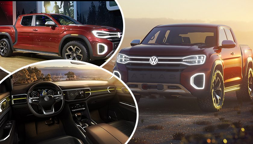 Future Vehicles – Volkswagen Atlas Tanoak Concept with a V6 Engine