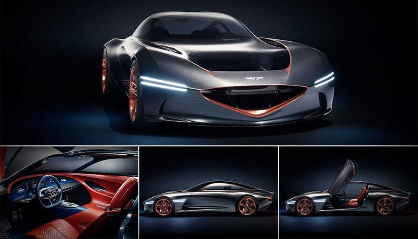 Future Luxury Car – The Genesis Essentia All-Electric Concept Revealed