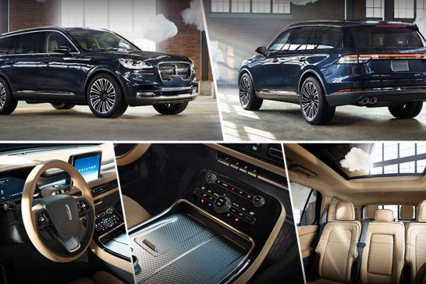Lincoln Aviator Concept PHEV with Advanced Technologies