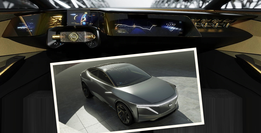 Nissan Concept Cars - The Nissan IMs Sport Sedan Concept with an Electric Powertrain