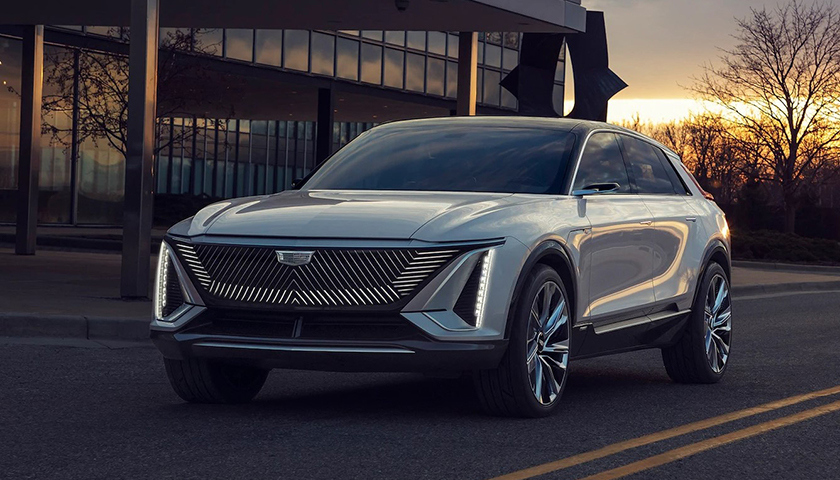 Cadillac Lyriq Show Car - Innovative Blend of Technology and Design