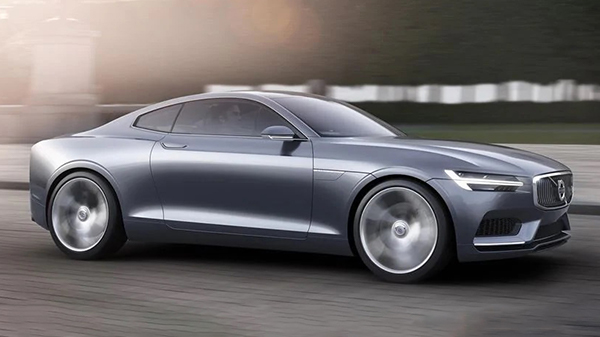 Volvo Concept Coupe performance