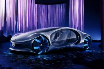 Mercedes Benz Vision AVTR – Inspired by the Futuristic Vision