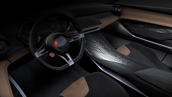 Interior of the Alfa Romeo Tonale Concept