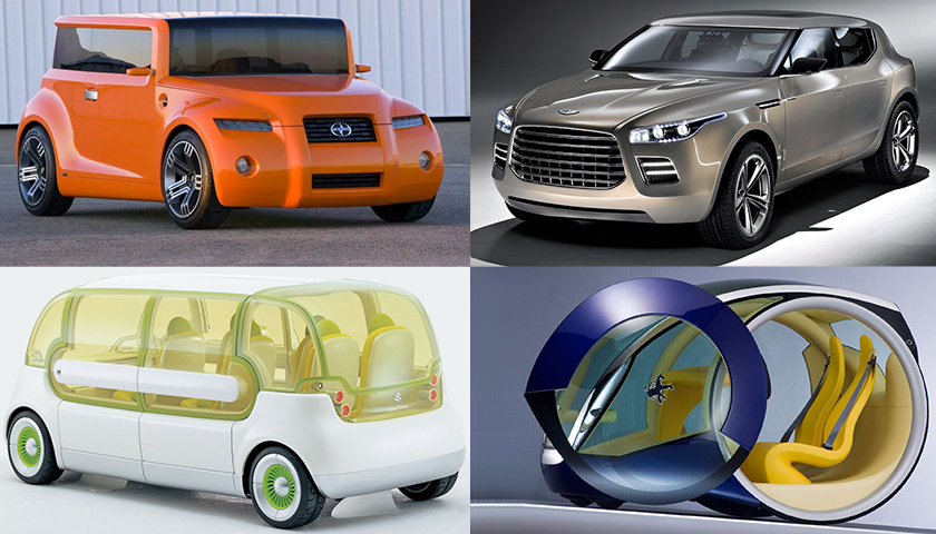 Most Unusual Concept Cars