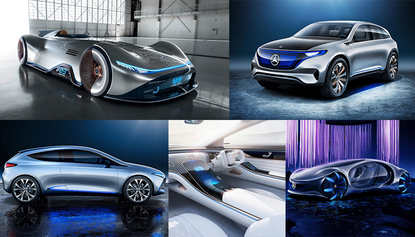 5 Concept Vehicles by Mercede